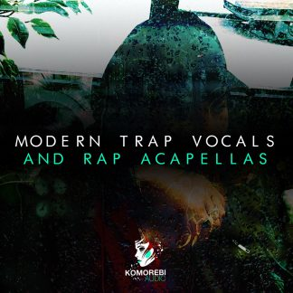 Modern Trap Vocals and Rap Acapellas Artwork