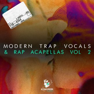 Modern Trap Vocal Samples Vol 2 Artwork