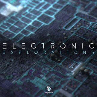 Electronic Exploration Royalty Free Hardwave Samples Artwork
